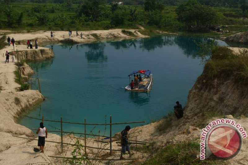 Jalur ke objek wisata Tangerang mulai ramai dilalui