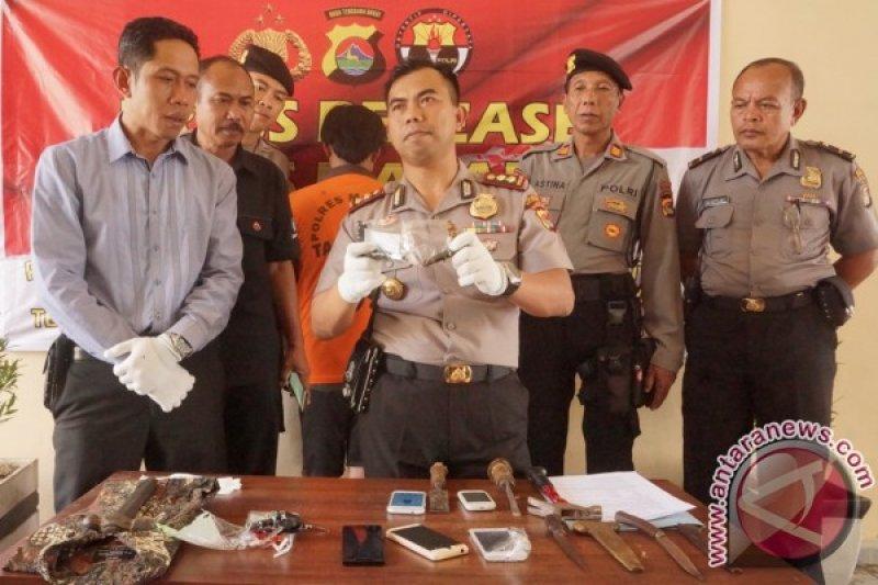 Polres Mataram Bekuk Komplotan Spesialis Curanmor