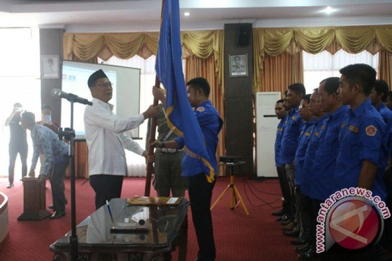 Bupati Lantik Pengurus Karang Taruna Kabupaten Kolaka