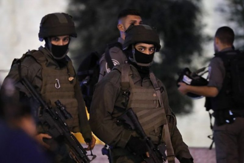 Pasukan Israel halangi pertandingan olah raga di Kota Tua Jerusalem