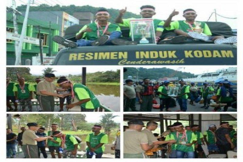 SSB Rindam U15 juara turnamen Danlantamal Cup