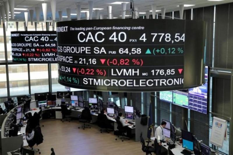 Indeks CAC-40 Prancis hampir tak berubah