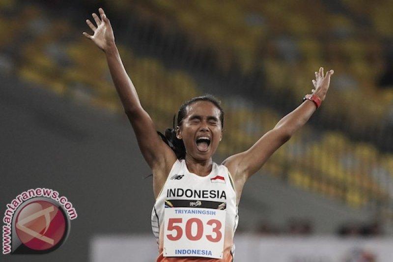 Triyaningsih batal tampil pada nomor maraton