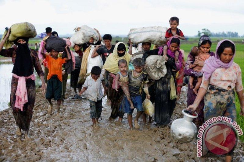 Myanmar desak warga Rohingnya bantu buru pemberontak