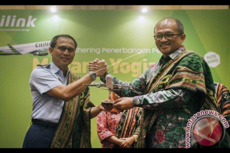 Citilink buka penerbangan langsung Medan-Yogyakarta