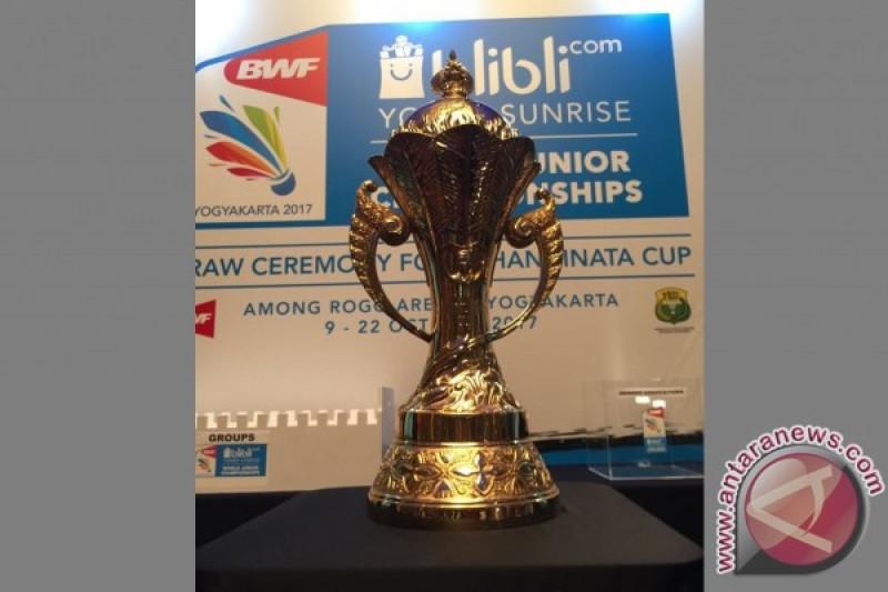 Tim bulutangkis Junior Indonesia rebut Piala Suhandinata  hempaskan China 3-1