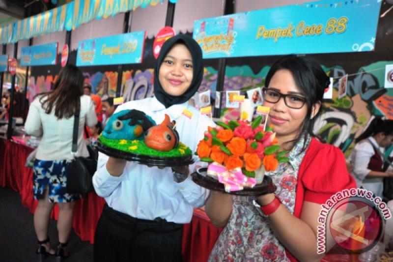 Festival pempek Palembang dan beragam menu unik