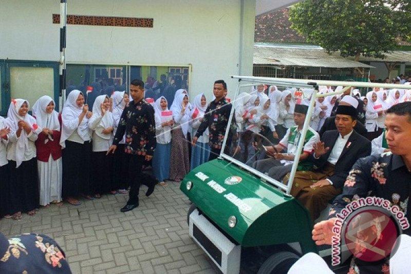 1.414 personel amankan kedatangan Jokowi di Jember
