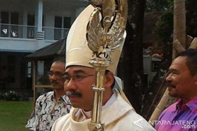 Uskup Agung Semarang ajak umat berdoa untuk kelancaran pelantikan Presiden