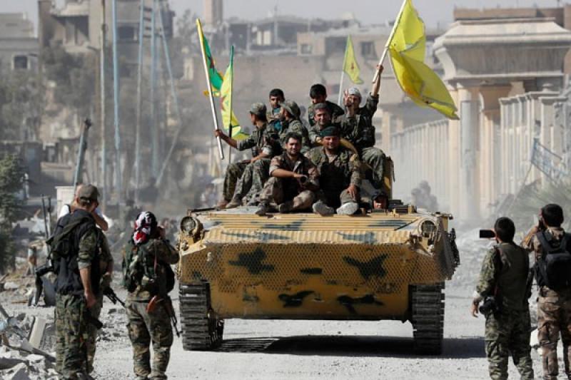 Pasukan Suriah dukungan AS perkirakan bertempur dengan IS Minggu