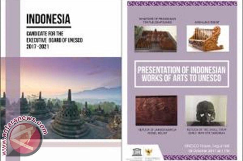 Indonesia serahkan empat karya seni kepada Unesco