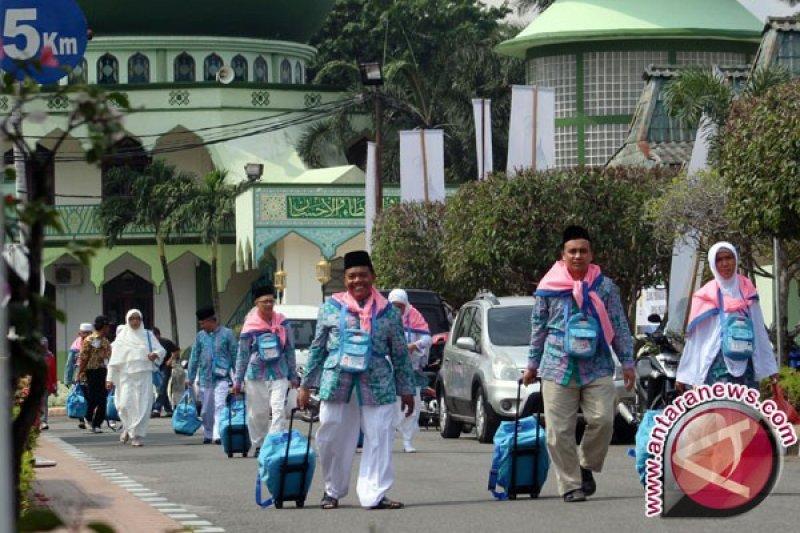 JCH Sultra berangkat ke tanah suci 3 Agustus