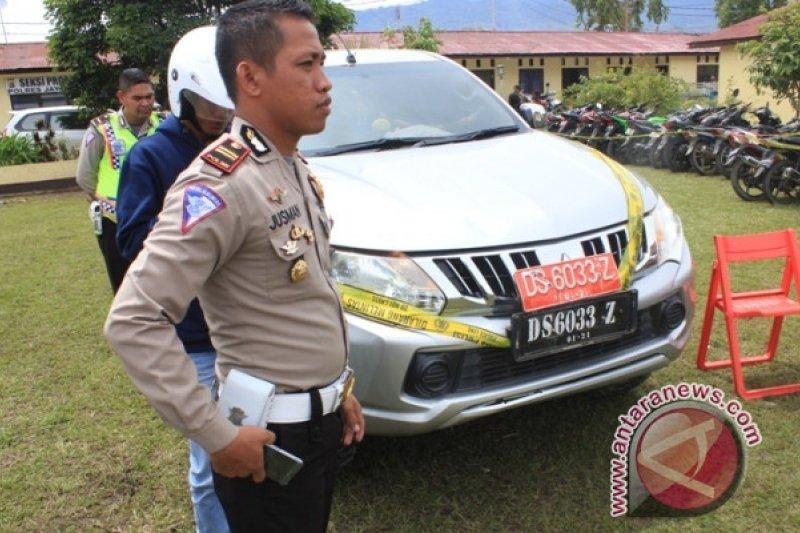Polisi Jayawijaya sita mobil dinas Pemkab Tolikara terkait korupsi