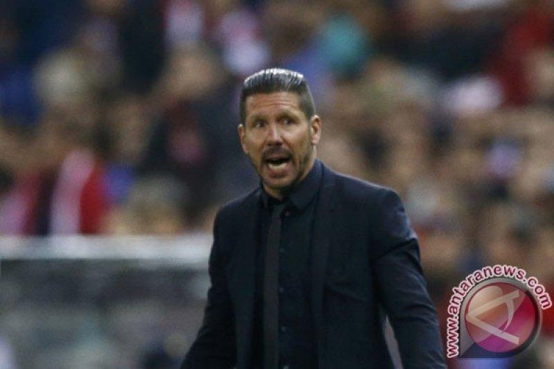 Turnamen pramusim, Simeone: Atletico masih dapat bersinar tanpa diperkuat sejumlah pemain
