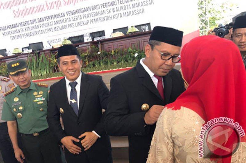 1.162 ASN Makassar Terima Penghargaan Satya Lencana