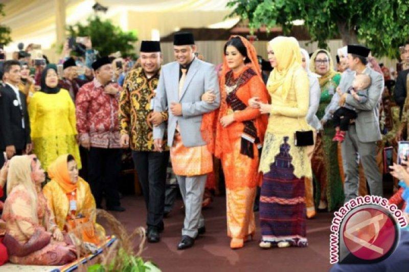 Sejumlah menteri doakan pernikahan Bobby-Kahiyang