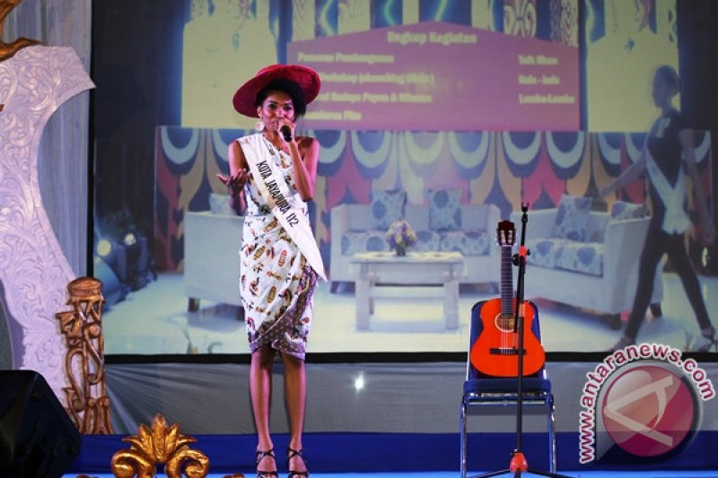Yuliana Fonataba wakili Papua dalam ajang Putri Indonesia 2017
