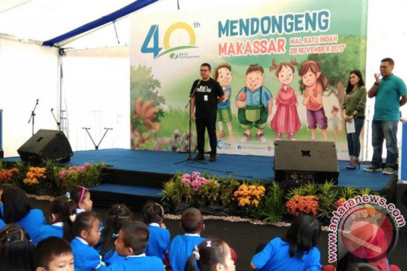 BPJS Ketenagakerjaan Sosialisasi Program Melalui Momen Mendongeng