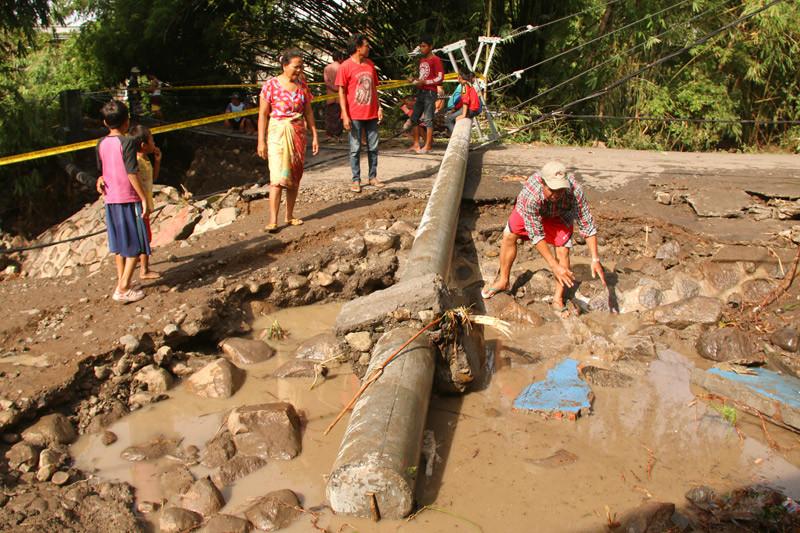 Ribuan jiwa terdampak banjir di Dompu