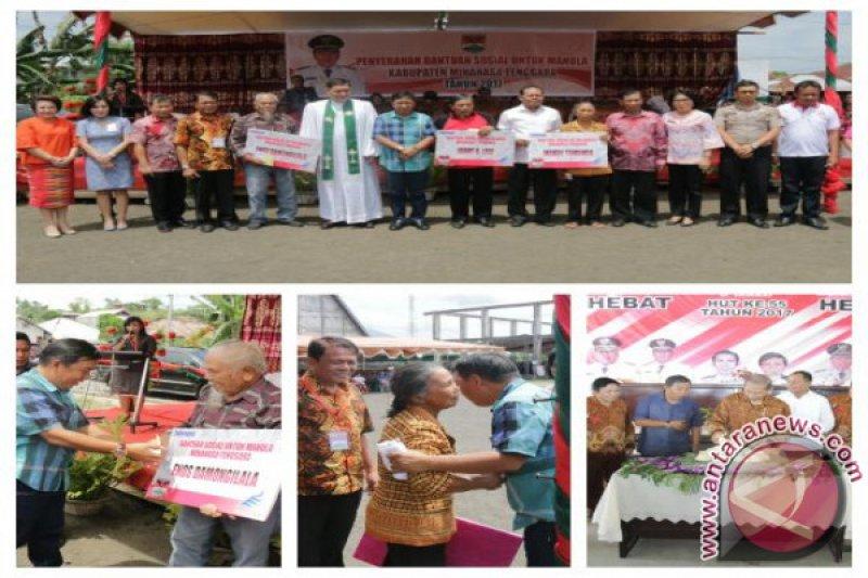 Pemkab Minahasa Tenggara Realisasikan Bantuan Lansia