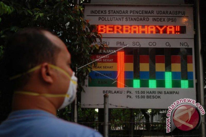 Kualitas udara di Riau kategori berbahaya