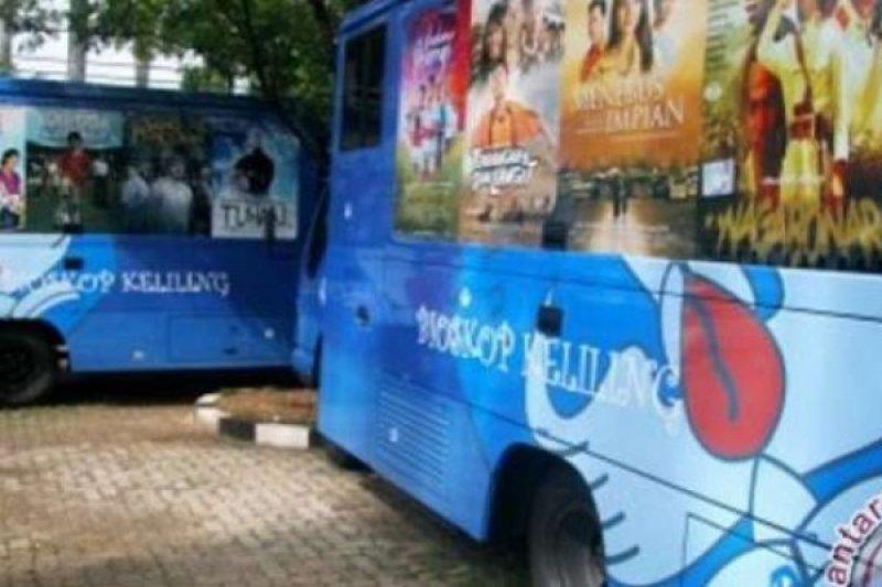 Balai Arkeologi Maluku Uji Coba Mobil Bioskop Keliling