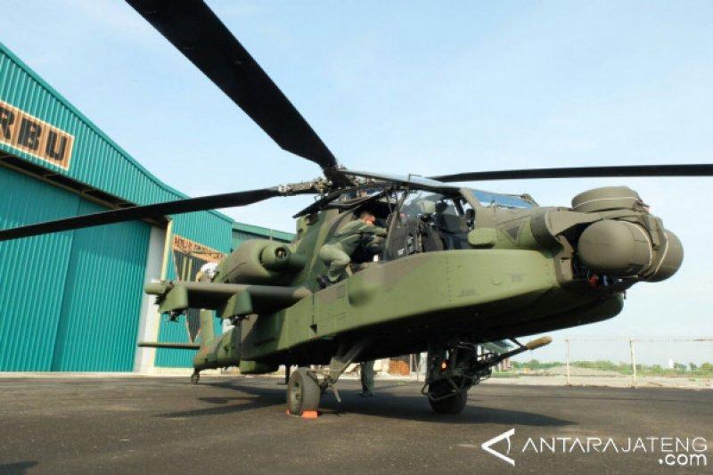 Persenjataan Skuadron 11 diperkuat delapan heli Apache