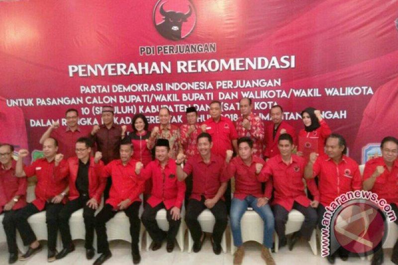 PDIP Tunda Umumkan 6 Paslon Pilkada di Kalteng
