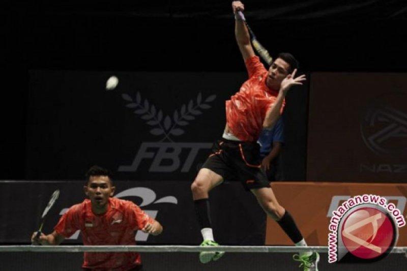 Fajar/Rian menghadapi Minions di perempat final Malaysia Masters