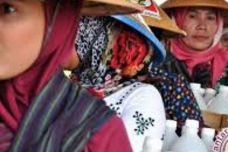 40 Persen Pedagang Jamu Gendong di Riau Masih Pakai Botol Plastik yang Tidak Higienis