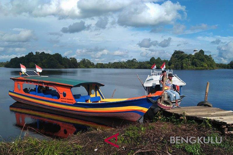 Disparpora Mukomuko usulkan dana untuk sarana wisata Danau Nibung