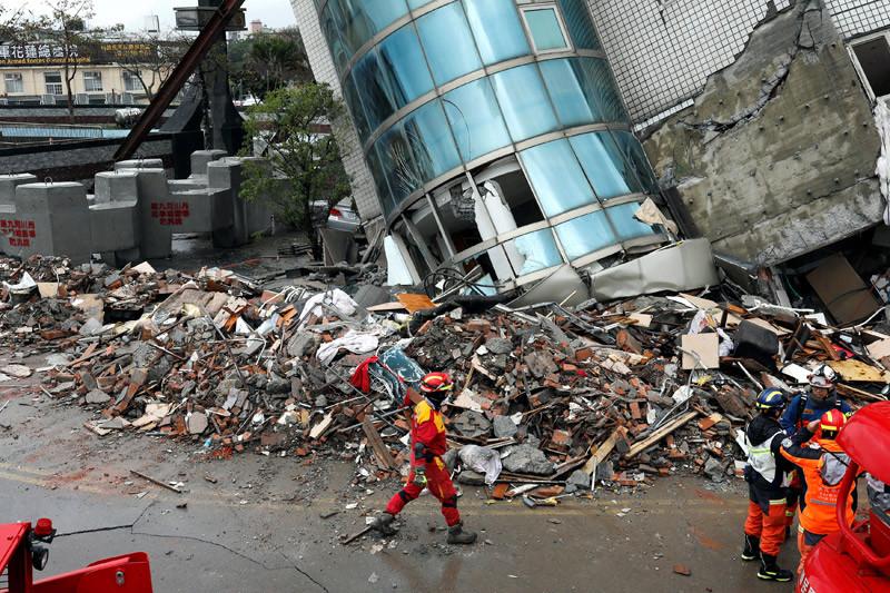 Gempa 6,0 SR guncang Taiwan, memicu pemadaman listrik