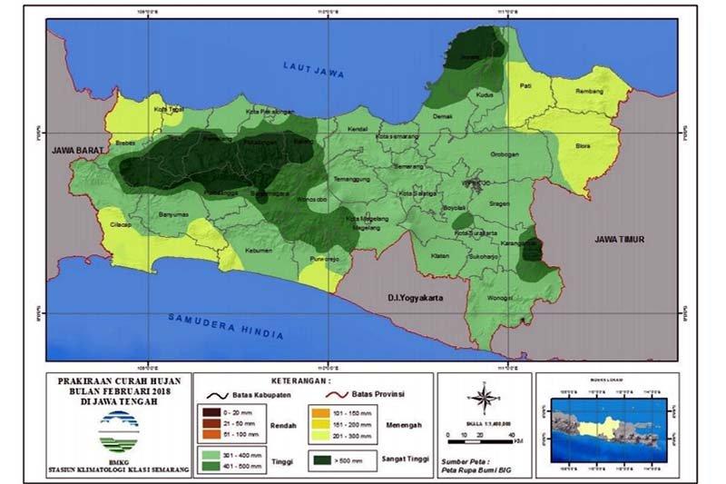BPBD Banjarnegara: Waspadai peningkatan potensi hujan
