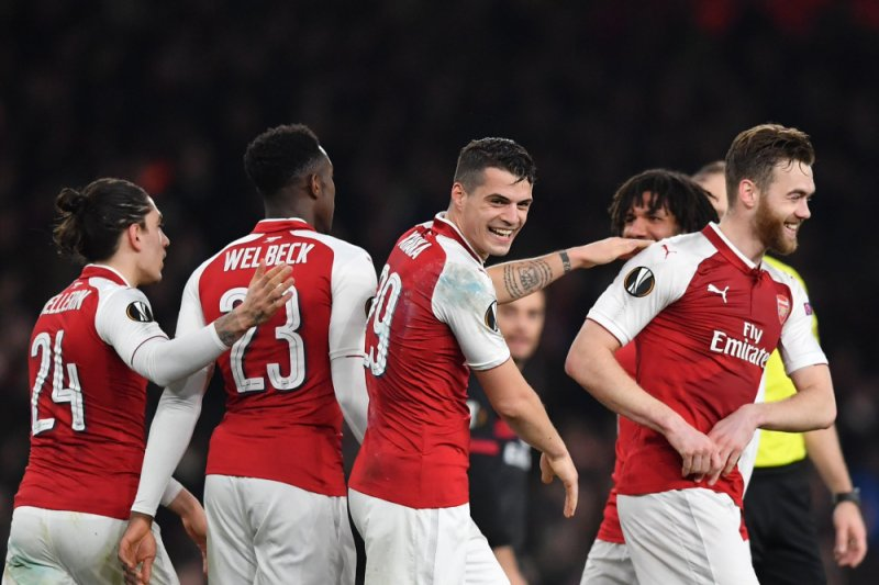 Arsenal kalahkan Newcastel United 2-1, Granit Xhaka sumbang gol