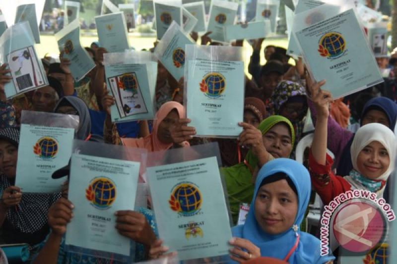 Menteri Agraria klarifikasi soal pembagian sertifikat tanah