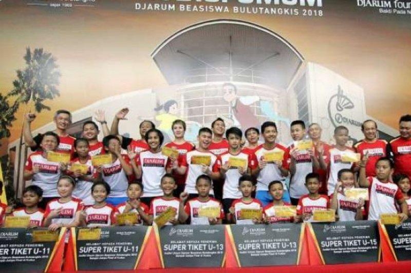 23 Pebulutangkis Sumatera Lolos Audisi Beasiswa Djarum di Pekanbaru, Berapa yang dari Riau?