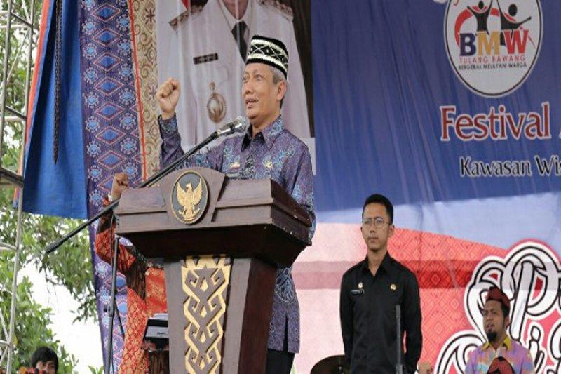 Gubernur Lampung buka Festival Megou Pak