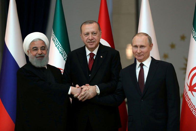 Presiden Iran berada di Turki untuk bicarakan Suriah, masalah regional