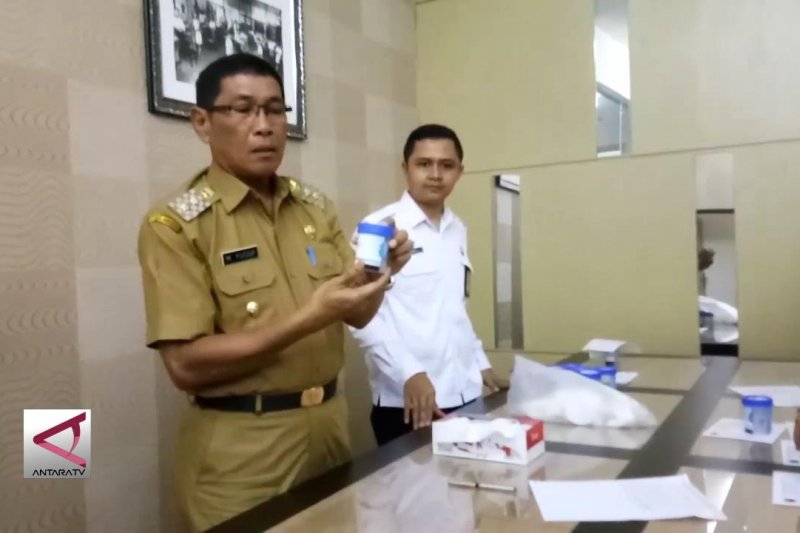 BNN gelar tes urine di Pemkot Tasikmalaya