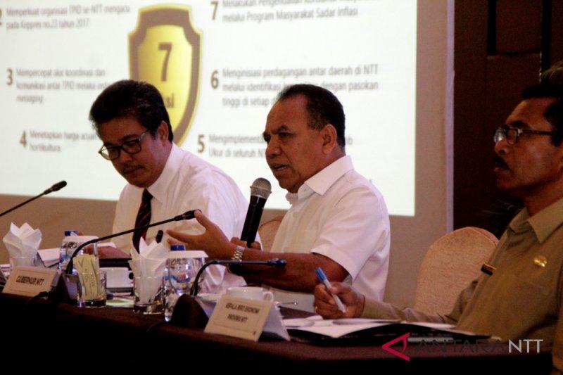 Tujuh komitmen jaga inflasi di NTT