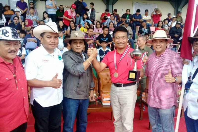Sejumlah kuda unggulan tumbang di Minahasa Cup
