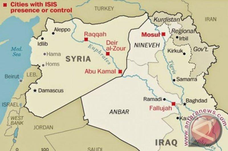 Serangan ISIS tewaskan sejumlah pasukan keamanan Irak