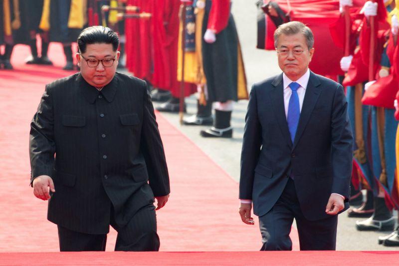 Pemimpin dua Korea awali babak sejarah baru di Panmunjeom
