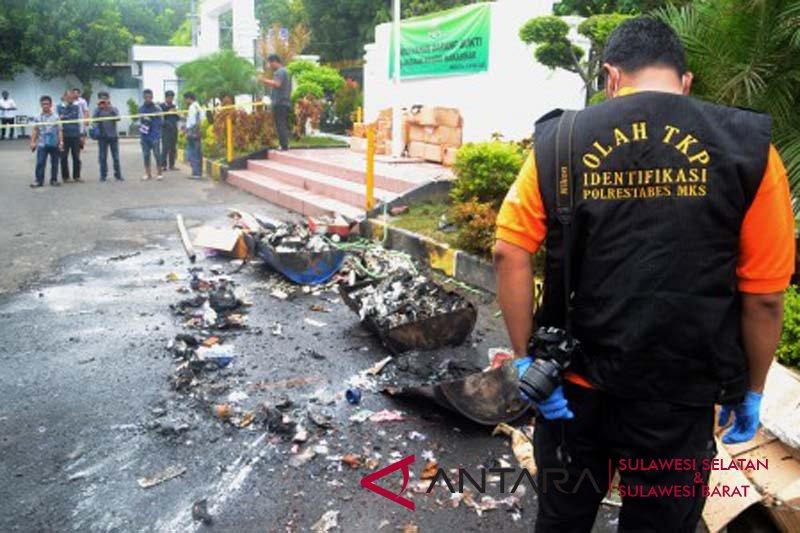 Ledakan saat pemusnmahan barang bukti