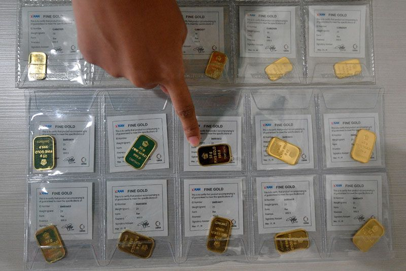 Pelemahan Rupiah Picu Kenaikan Penjualan Emas Antam Antara