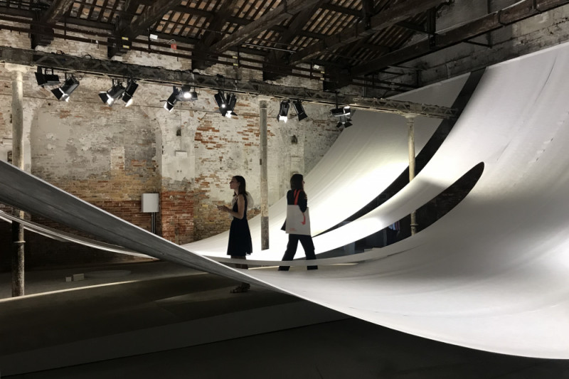 Suasana Paviliun Indonesia di Venice Architecture Biennale 2018 (video)