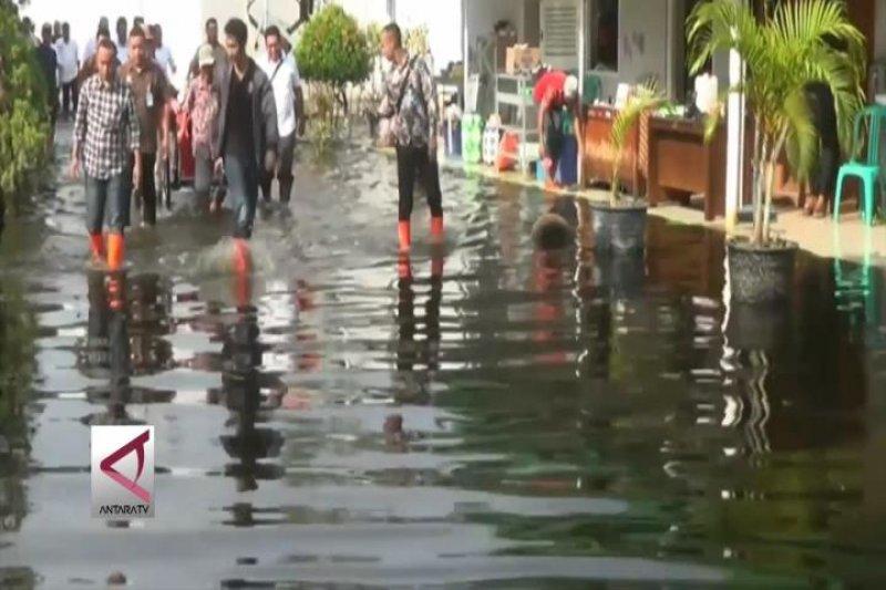 Seluruh area lapas Pekalongan terendam