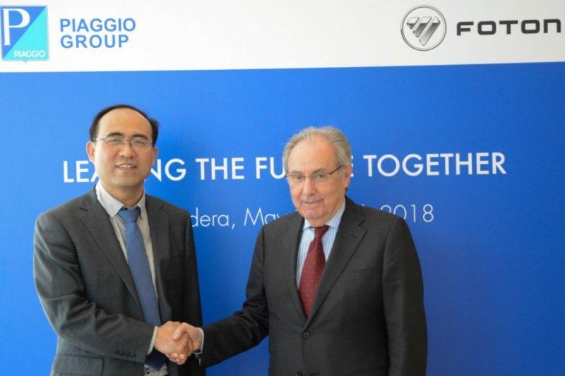 Piaggio dan Foton kerjasama produksi van dan pickup