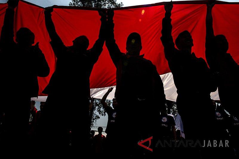 Hari Buruh Internasional, massa tidak dikenal lakukan aksi vandalisme di Bandung