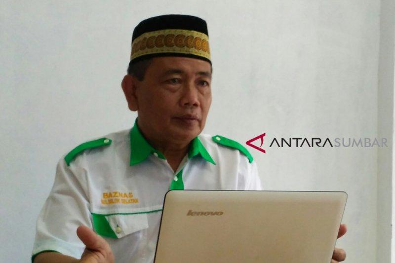 Baznas Solok Selatan sudah salurkan zakat Rp864 juta